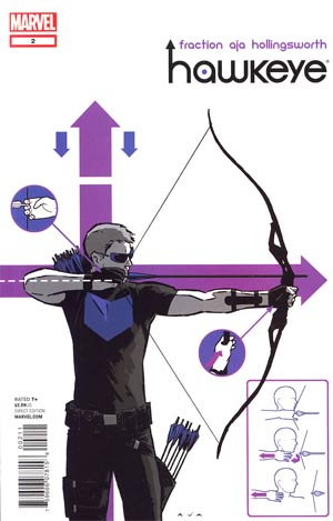 Hawkeye Vol 4 #2 1st Ptg