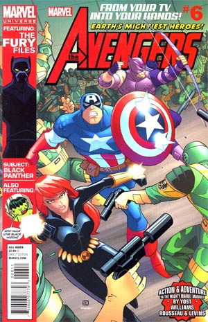 Marvel Universe Avengers Earths Mightiest Heroes #6