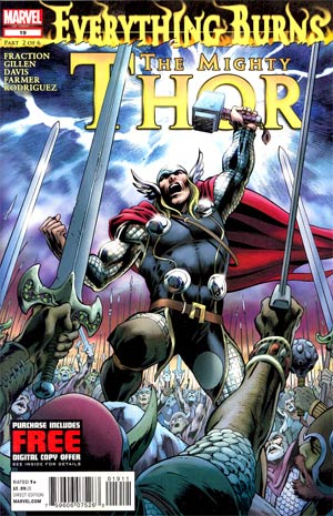 Mighty Thor #19 (Everything Burns Part 2)