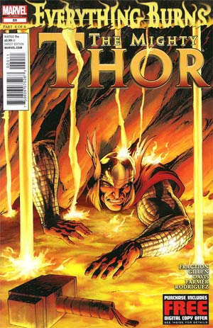 Mighty Thor #20 Regular Alan Davis Cover (Everything Burns Part 4)