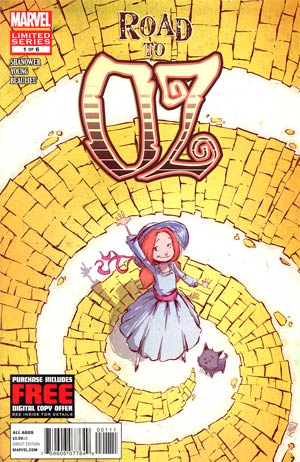 Road To Oz #1 Regular Skottie Young Cover
