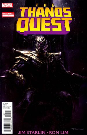 Thanos Quest One Shot (2012) Reprint