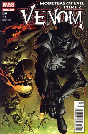 Venom Vol 2 #24 Regular Patrick Zircher Cover