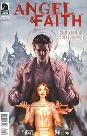 Angel And Faith #14 Regular Steve Morris Cover