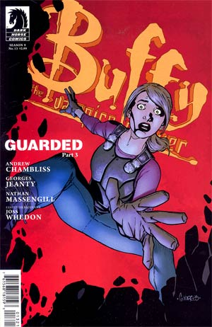 Buffy The Vampire Slayer Season 9 Freefall #13 Variant Georges Jeanty Cover