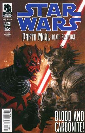 Star Wars Darth Maul Death Sentence #3