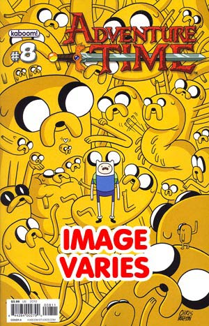 DO NOT USE - Adventure Time #8 Regular Cover (Filled Randomly With 1 Of 2 Covers)