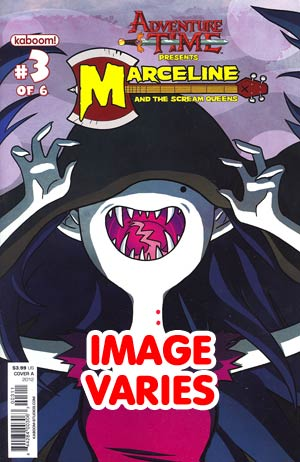 DO NOT USE Adventure Time Marceline And The Scream Queens #3 Regular Cover (Filled Randomly With 1 Of 2 Covers)