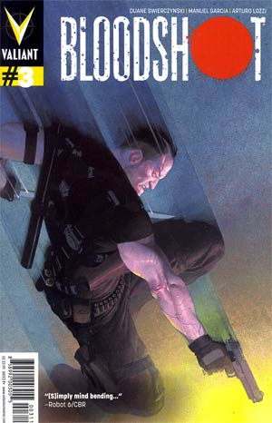 Bloodshot Vol 3 #3 Regular Esad Ribic Cover