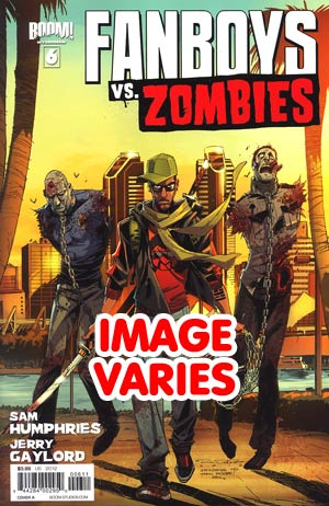 DO NOT USE Fanboys vs Zombies #6 Regular Cover (Filled Randomly With 1 Of 2 Covers)