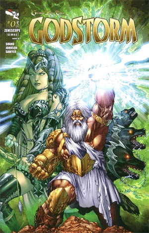 Grimm Fairy Tales Presents Godstorm #0 Regular E-Bas Cover