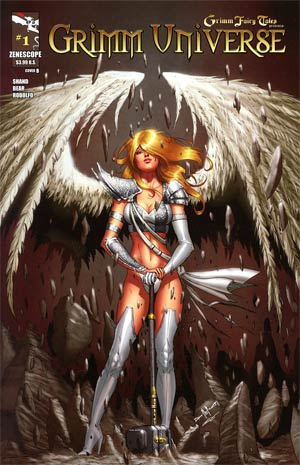 Grimm Universe #1 Neptune Angel Cover B Pasquale Qualano