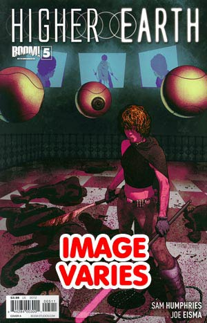 DO NOT USE Higher Earth #5 Regular Cover (Filled Randomly With 1 Of 2 Covers)