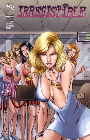 Irresistible #4 Cover B Sheldon Goh