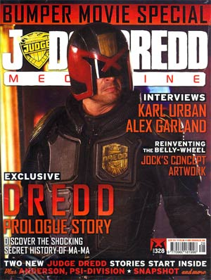 Judge Dredd Megazine #328