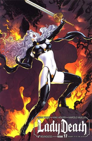 Lady Death Vol 3 #17 Auxiliary Edition
