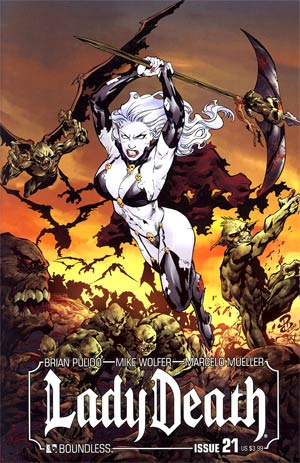 Lady Death Vol 3 #21 Regular Renato Camilo Cover