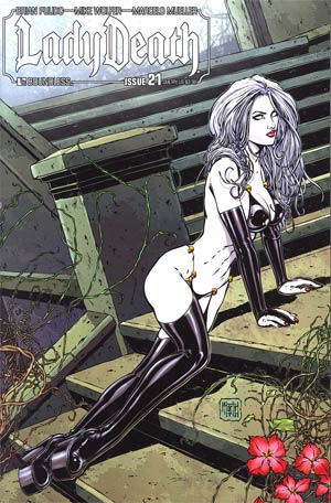 Lady Death Vol 3 #21 Sultry Cover