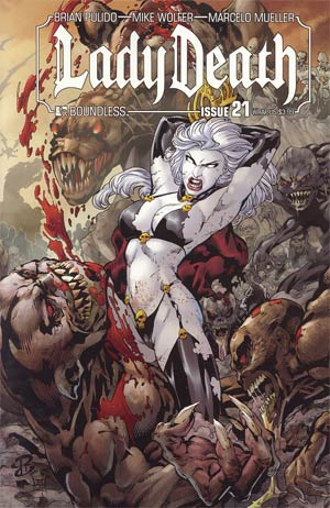 Lady Death Vol 3 #21 Wraparound Cover