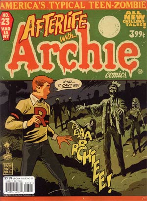 Life With Archie Married Life #23 Variant Francesco Francavilla Cover