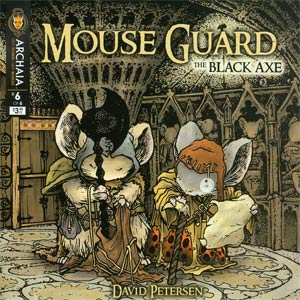 Mouse Guard Black Axe #6