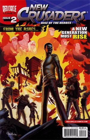 New Crusaders Rise Of The Heroes #2 Regular Ben Bates Cover