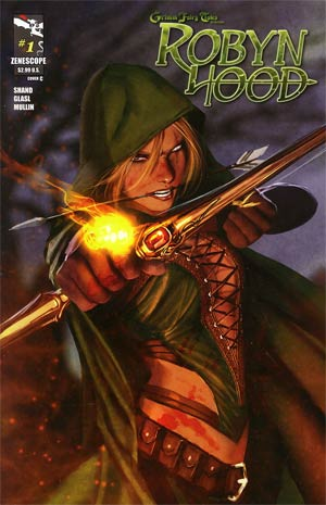 Grimm Fairy Tales Presents Robyn Hood #1 Cover C Stjepan Sejic