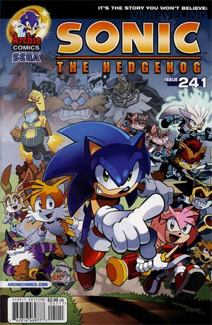 Sonic The Hedgehog Vol 2 #241 Regular Tracy Yardley Cover