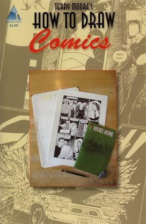 Terry Moores How To Draw #5 Comics