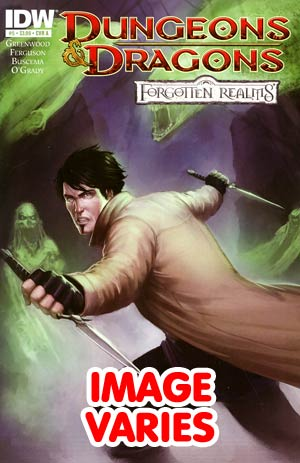 Dungeons & Dragons Forgotten Realms #5 Regular Cover (Filled Randomly With 1 Of 2 Covers)