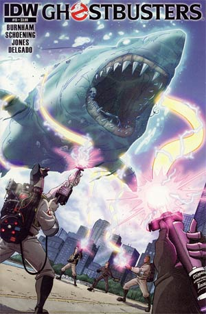 Ghostbusters #13 Regular Dan Schoening Cover