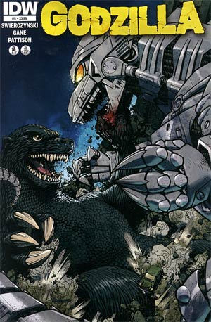 Godzilla Vol 2 #5 Regular Zach Howard Cover