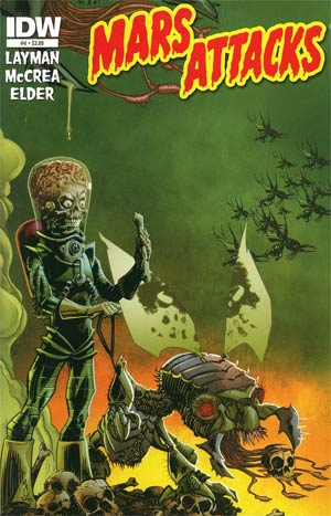 Mars Attacks Vol 3 #4 Regular John McCrea Cover