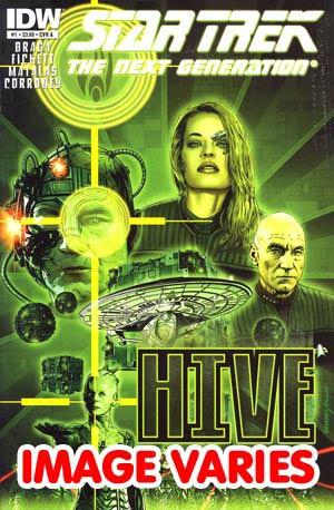 DO NOT USE Star Trek The Next Generation Hive #1 Regular Cover (Filled Randomly With 1 Of 2 Covers)