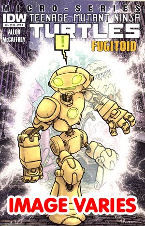 DO NOT USE Teenage Mutant Ninja Turtles Micro-Series #8 Fugitoid Regular Cover (Filled Randomly With 1 Of 2 Covers)