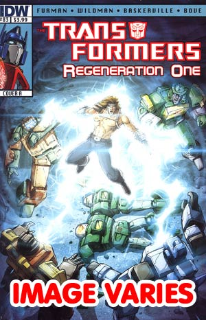 DO NOT USE Transformers Regeneration One #83 Regular Cover (Filled Randomly With 1 Of 2 Covers)