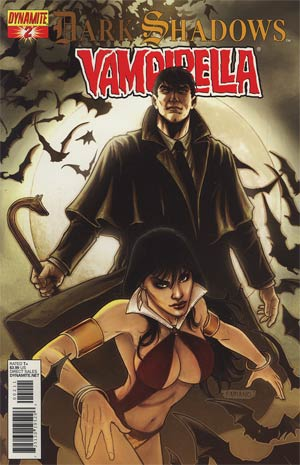 Dark Shadows Vampirella #2 Regular Fabiano Neves Cover
