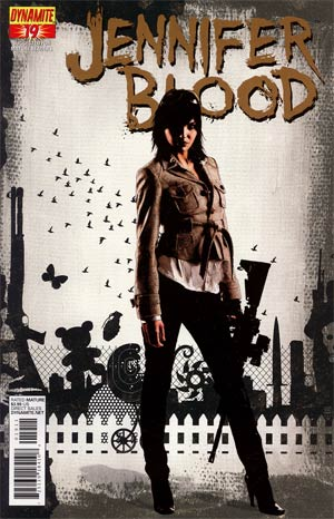 Garth Ennis Jennifer Blood #19 Regular Tim Bradstreet Cover
