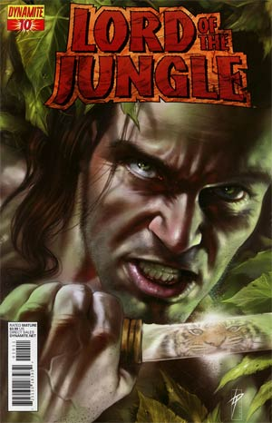 Lord Of The Jungle #10 Regular Lucio Parrillo Cover