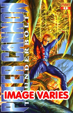DO NOT USE Peter Cannon Thunderbolt Vol 2 #1 Regular Cover (Filled Randomly With 1 Of 4 Covers)