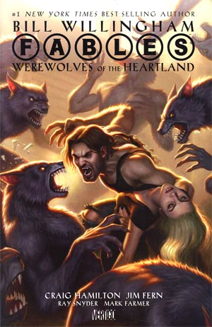 Fables Werewolves Of The Heartland HC