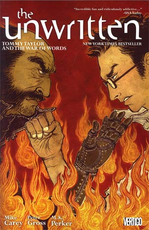 Unwritten Vol 6 Tommy Taylor And The War Of Words TP