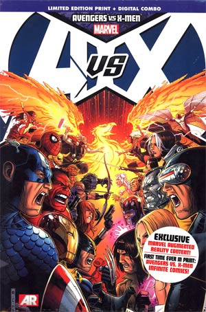 Avengers vs X-Men HC Book Market Jim Cheung Cover