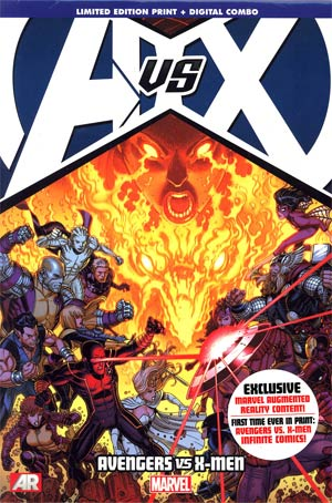 Avengers vs X-Men HC Direct Market Nick Bradshaw Variant Cover