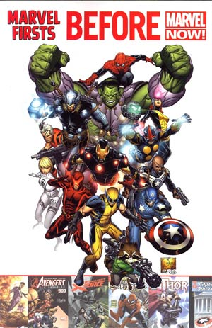 Marvel Firsts Before Marvel Now TP