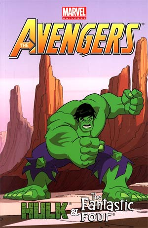 Marvel Universe Avengers Hulk And Fantastic Four TP Digest