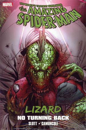 Spider-Man Lizard No Turning Back HC