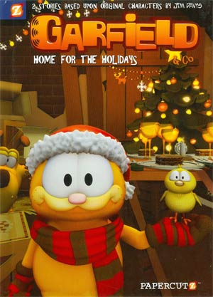 Garfield & Co Vol 7 Home For The Holidays HC