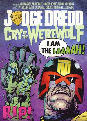 Judge Dredd Cry Of The Werewolf TP