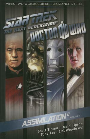 Star Trek The Next Generation Doctor Who Assimilation2 Vol 1 TP